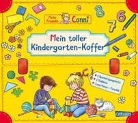 Cover-Bild zu Sörensen, Hanna: Conni Gelbe Reihe: Mein toller Kindergarten-Koffer (Buch-Set für den Kindergarten)
