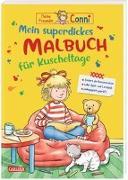 Cover-Bild zu Sörensen, Hanna: Conni Gelbe Reihe: Mein superdickes Malbuch für Kuscheltage