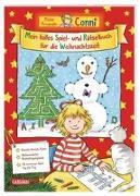 Cover-Bild zu Sörensen, Hanna: Conni Gelbe Reihe: Mein tolles Spiel- und Rätselbuch für die Weihnachtszeit