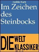 Cover-Bild zu eBook Im Zeichen des Steinbocks