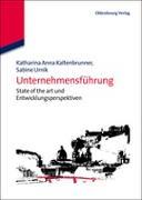 Cover-Bild zu Kaltenbrunner, Katharina Anna (Hrsg.): Unternehmensführung