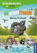 Cover-Bild zu Die wilden Freunde, Bücherhelden 2. Klasse, Ab ins Freibad! (eBook) von Marx, André