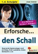 Cover-Bild zu Erforsche ... den Schall (eBook) von Scheller, Anne