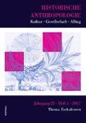 Cover-Bild zu Burschel, Peter (Hrsg.): Historische Anthropologie 25,1