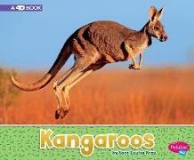 Cover-Bild zu Kras, Sara Louise: Kangaroos: A 4D Book
