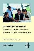 Cover-Bild zu Der Windows 10 Trainer von Laue, Nicole