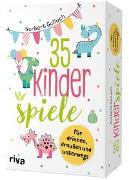 Cover-Bild zu Golluch, Norbert: 35 Kinderspiele für drinnen, draußen und unterwegs