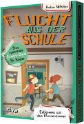 Cover-Bild zu Abfalter, Katrin: Flucht aus der Schule - Das spannende Escape-Spiel für Kinder
