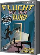 Cover-Bild zu Abfalter, Katrin: Flucht aus dem Büro - Das spannende Escape-Spiel