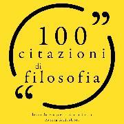 Cover-Bild zu Tzu, Lao: 100 citazioni di filosofia (Audio Download)