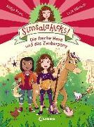 Cover-Bild zu Simsalahicks! 1 - Die freche Hexe und das Zauberpony von Frixe, Katja