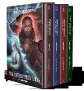 Cover-Bild zu Hogarth, M. C. A.: Her Instruments Box Set, Books 1-4: Earthrise, Rose Point, Laisrathera, and A Rose Point Holiday (eBook)