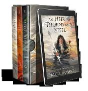 Cover-Bild zu Hogarth, M. C. A.: The Blood Ladders Box Set, Books 1-3: An Heir to Thorns and Steel, By Vow and Royal Bloodshed, and On Wings of Bone and Glass (eBook)