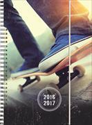 Cover-Bild zu Emotions daily A6 Skateboard 2016/2017