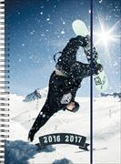 Cover-Bild zu Emotions weekly A5 Snowboarder 2016/2017