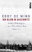 Cover-Bild zu Wind, Eddy de: Ich blieb in Auschwitz (eBook)