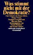 Cover-Bild zu Dörre, Klaus: Was stimmt nicht mit der Demokratie?