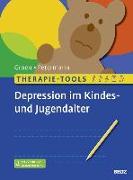 Cover-Bild zu Therapie-Tools Depression im Kindes- und Jugendalter von Groen, Gunter