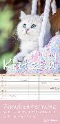 Cover-Bild zu teNeues Calendars & Stationery GmbH & Co. KG: Katzen 2021 Familienplaner - Familien-Timer - Termin-Planer - Kinder-Kalender - Familien-Kalender - 22x45