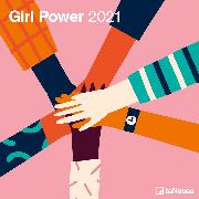 Cover-Bild zu teNeues Calendars & Stationery GmbH & Co. KG: Girl Power 2021 - Wand-Kalender - Broschüren-Kalender - 30x30 - 30x60 geöffnet - Frauen