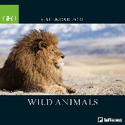 Cover-Bild zu teNeues Calendars & Stationery GmbH & Co. KG: GEO Wild Animals 2021