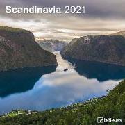 Cover-Bild zu teNeues Calendars & Stationery GmbH & Co. KG: Scandinavia 2021 - Wand-Kalender - Brsochüren-Kalender - 30x30 - 30x60 geöffnet - Reise-Kalender