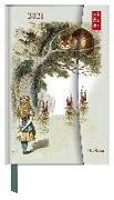 Cover-Bild zu teNeues Calendars & Stationery GmbH & Co. KG: Alice in Wonderland 2021 - Buchkalender - Märchen - Taschenkalender - 10x15