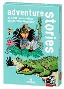 Cover-Bild zu Harder, Corinna: black stories junior - adventure stories