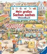 Cover-Bild zu Mein großes Sachen suchen - Wimmelbuch