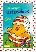 Cover-Bild zu Muszynski, Eva (Illustr.): Mein lustiger Osterblock mit Stickern