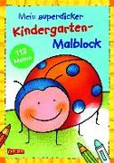Cover-Bild zu Muszynski, Eva (Illustr.): Mein superdicker Kindergarten-Malblock