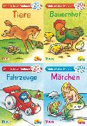 Cover-Bild zu Muszynski, Eva (Illustr.): Carlsen Verkaufspaket. Pixi kreativ Serie Nr. 5: Meine Sticker-Lieblinge