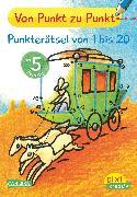 Cover-Bild zu Muszynski, Eva (Illustr.): Pixi kreativ Nr. 81: VE 5 Von Punkt zu Punkt: Punkterätsel von 1 bis 20