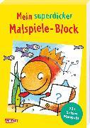 Cover-Bild zu Muszynski, Eva (Illustr.): Mein superdicker Malspiele-Block