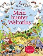 Cover-Bild zu Mein bunter Weltatlas von Frith, Alex