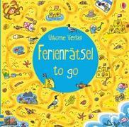 Cover-Bild zu Ferienrätsel to go von Frith, Alex
