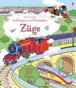 Cover-Bild zu Aufklappen und Entdecken: Züge von Frith, Alex