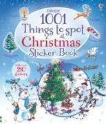 Cover-Bild zu 1001 Things to Spot at Christmas Sticker Book von Frith, Alex