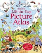 Cover-Bild zu Lift the Flap Picture Atlas von Frith, Alex