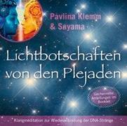 Cover-Bild zu Lichtbotschaften von den Plejaden [Reiner Klang] von Klemm, Pavlina