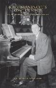 Cover-Bild zu Rachmaninoff's Complete Songs: A Companion with Texts and Translations von Sylvester, Richard D.