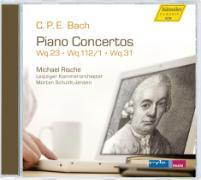 Cover-Bild zu Piano Concertos Wq. 23, 31, 112/1