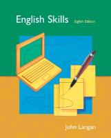 Cover-Bild zu English Skills: Text, Student CD, and Bind-In Card von Langan, John