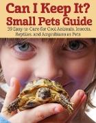 Cover-Bild zu eBook Can I Keep It? Small Pets Guide