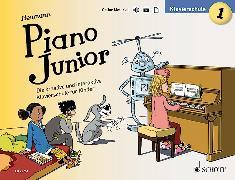 Cover-Bild zu Piano Junior: Klavierschule 1 von Heumann, Hans-Günter