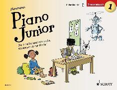 Cover-Bild zu Piano Junior: Theoriebuch 1 von Heumann, Hans-Günter