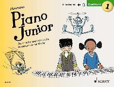 Cover-Bild zu Piano Junior: Duettbuch 1 von Heumann, Hans-Günter