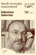 Cover-Bild zu eBook MUSIK-KONZEPTE Sonderband - Salvatore Sciarrino