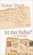 Cover-Bild zu Ist das Kafka? (eBook) von Stach, Reiner