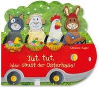 Cover-Bild zu Tut, tut, hier saust der Osterhase! von Kugler, Christine